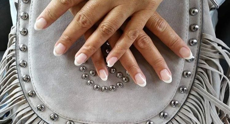 French Manicure Nail Design By Kelsey